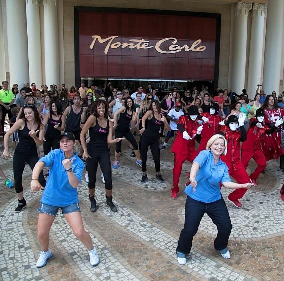Monte Carlo Plaza Hosts National Dance Day