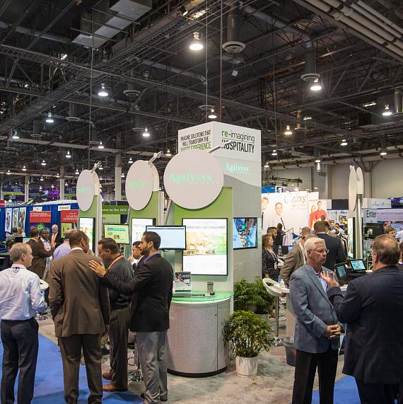 More than 25,000 attendees explore exhibitors' booths on day three of G2E 2016
