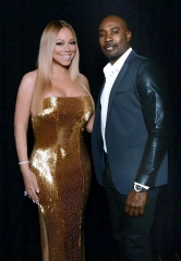 "Actor Morris Chestnut attends ""Mariah #1 to Infinity"" at The Colosseum at Caesars Palace"