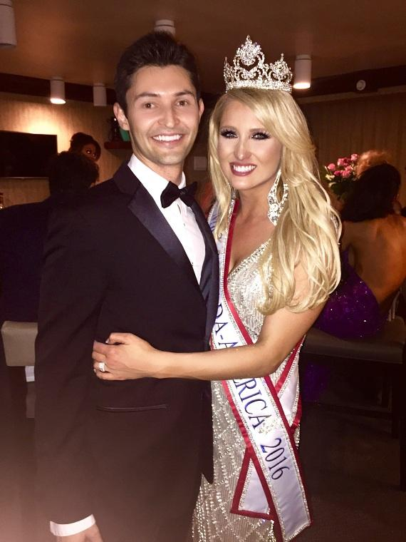 Mrs. Nevada-America Lauren Cahlan with husband Shaun Cahlan