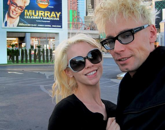 Murray Sawchuck and wife Chloe Crawford at The Tropicana Las Vegas
