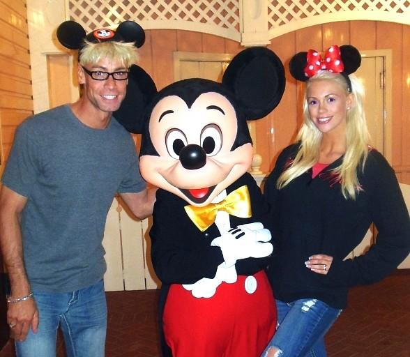 Murray and Chloe Celebrate Their One Year Anniversary at Disneyland