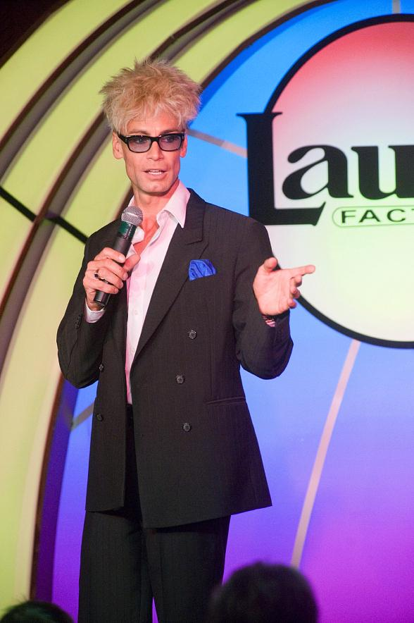 "Murray SawChuck performs the ""Vanishing Watch Illusion"" in 'MURRAY Celebrity Magician"" at Laugh Factory in The Tropicana Las Vegas"