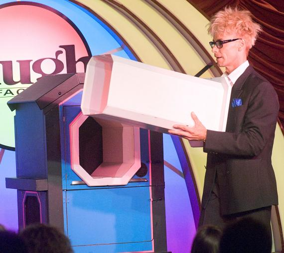 "Murray SawChuck performs ""The Puzzler"" Illusion in 'MURRAY Celebrity Magician"" at The Tropicana Las Vegas"