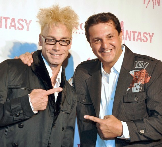 Magicians Murray SawChuck and Douglas Lefty Leferovic on FANTASY red carpet