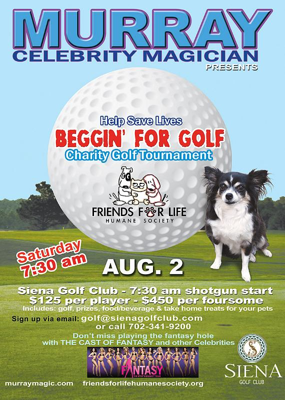 """Beggin' for Golf"" Tournament"