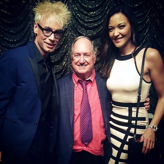 Murray SawChuck with Neil Sedaka and Jenni Lee Kearns