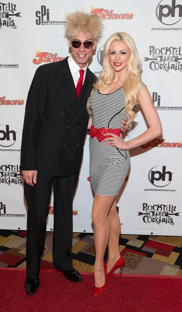 Tropicana headliner Murray SawChuck and his wife, FANTASY dancer and Playboy.com's Cyber Girl for February, Chloe Crawford