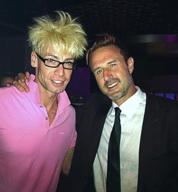 Murray SawChuck and David Arquette