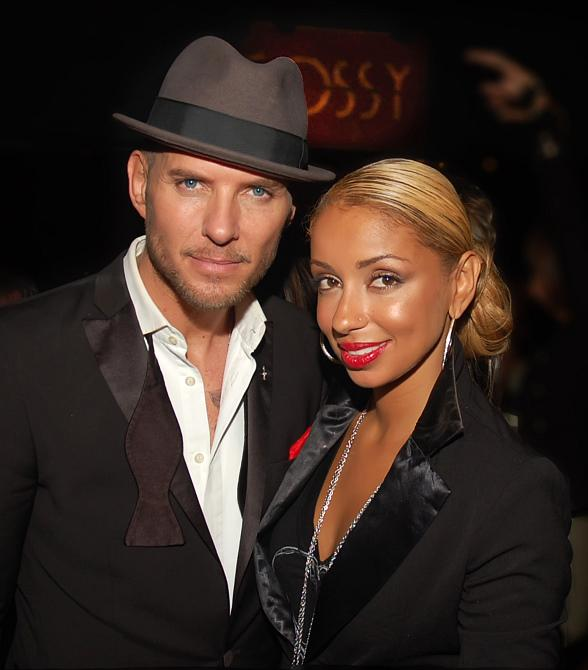 R&B Star Mya at Matt Goss Show