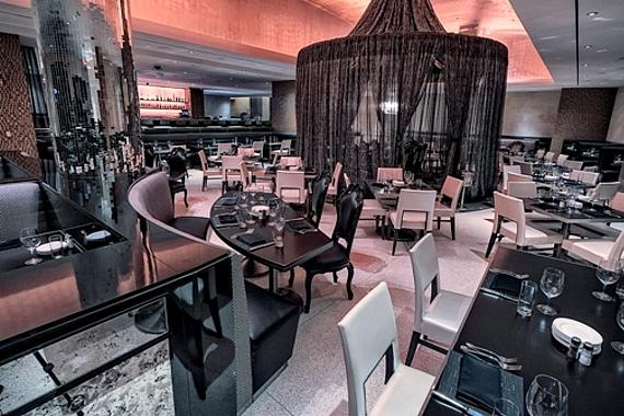 N9NE Steakhouse - Interior