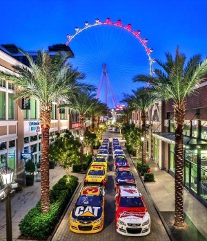 The LINQ Promenade Welcomes NASCAR as Official Headquarters for Fans During Champion's Week, Dec. 2-4