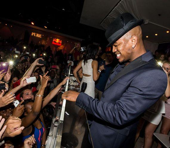 NE-YO performs inside PURE Nightclub at Caesars Palace