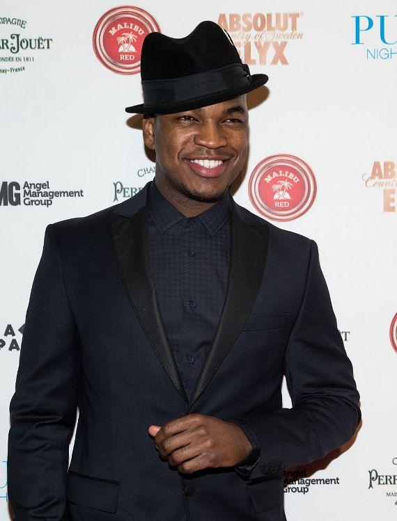 NE-YO on red carpet at PURE Nightclub at Caesars Palace