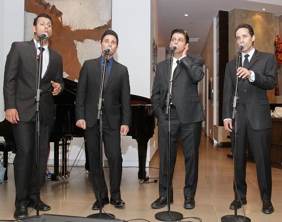 Stars of the Jersey Boys perform a private concert during the NF Hope Concert VIP event on Monday, Sept. 29