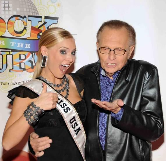NVCI Rock for the Cure - Miss USA and Larry King