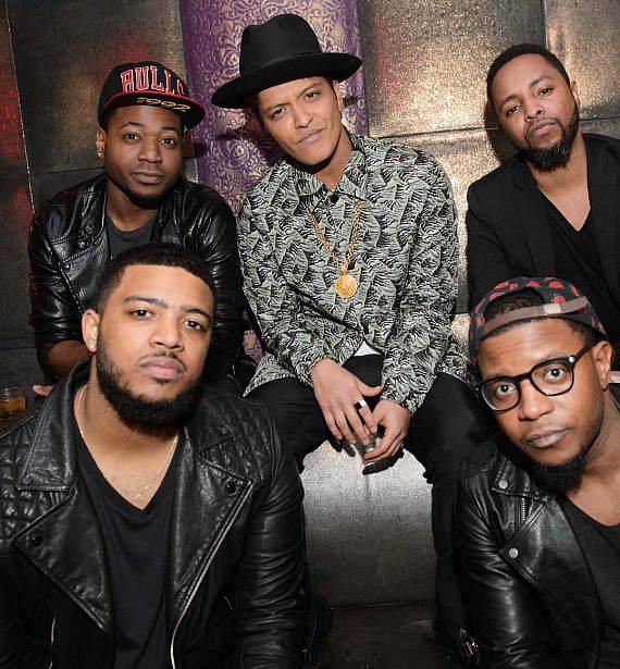 Bruno Mars at Marquee on NYE