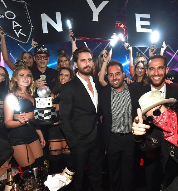 Reality star Scott Disick hosts New Year's Eve bash at 1 ...