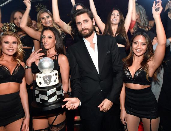 Reality star Scott Disick hosts New Year's Eve bash at 1 OAK Nightclub inside The Mirage Hotel & Casino