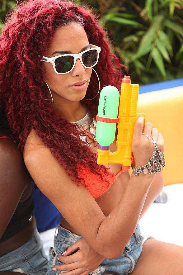 R&B Songstress Natalie La Rose Performs at Ditch Fridays at Palms Pool & Dayclub