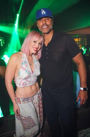 "Rick Fox Delivers Dynamic DJ Set at Hyde Bellagio during ""Lost Angels Industry Night"" alongside Natasha Bedingfield"