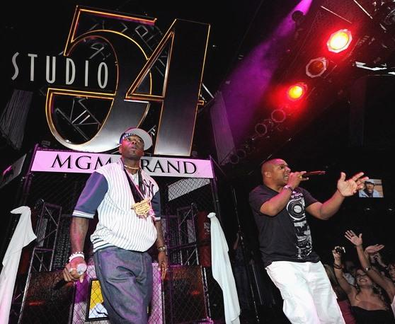 Naughty by Nature performs at Studio 54
