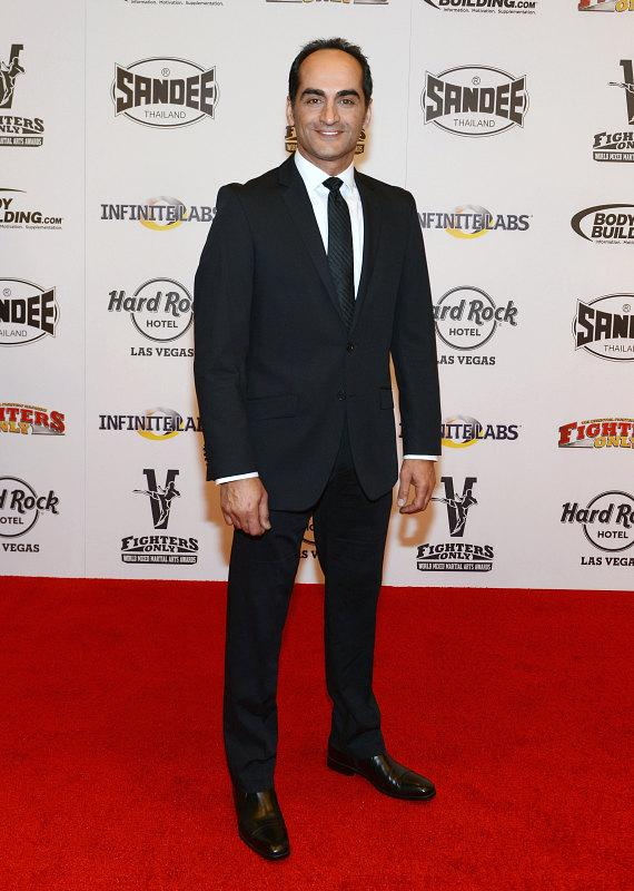 Navid Negahban at Fighters Only World MMA Awards
