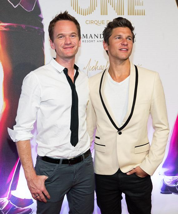 Neil Patrick Harris and partner David Burtka
