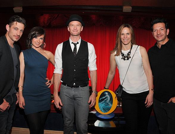 "Neil Patrick Harris Experiences New VIP Suites at ""O"" by Cirque du Soleil"