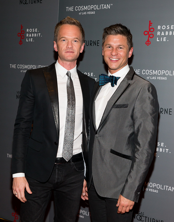 Neil Patrick Harris and David Burtka at Rose. Rabbit. Lie.