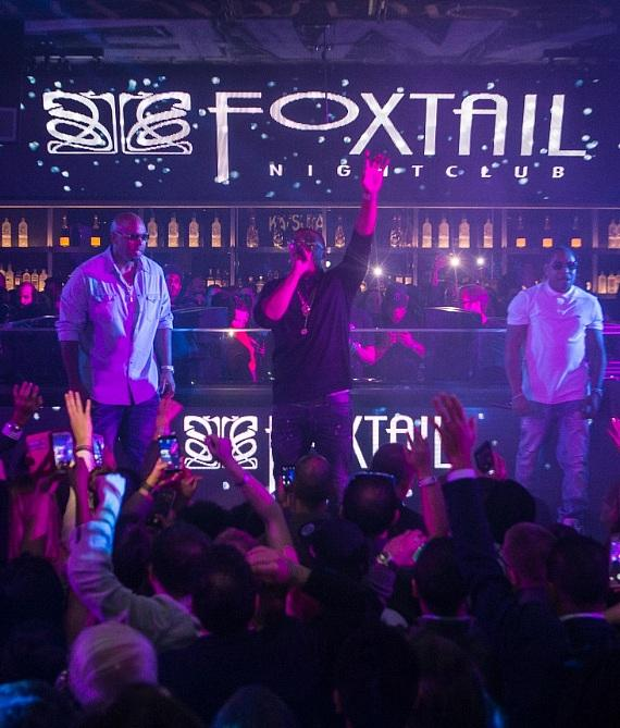 Nelly performs at Official TiVo After Party at Foxtail Nightclub