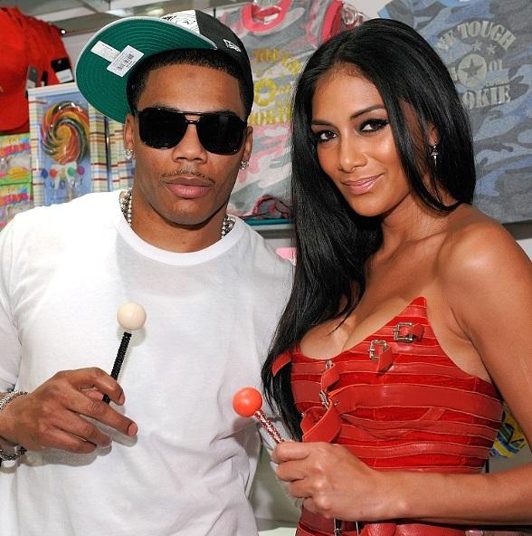 Nelly and Nicole Scherzinger at Sugar Factory at Paris Las Vegas