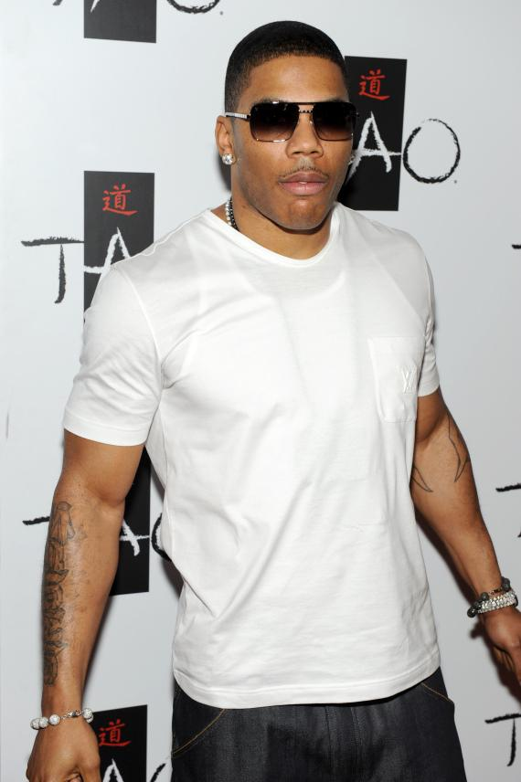 Nelly on TAO red carpet