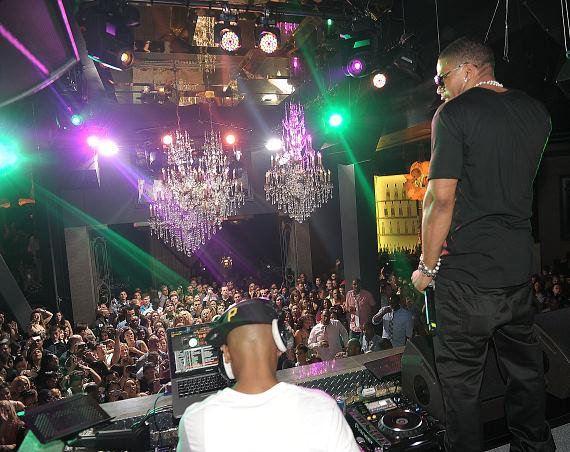 Nelly performs at Chateau Nightclub & Gardens at Paris Las Vegas