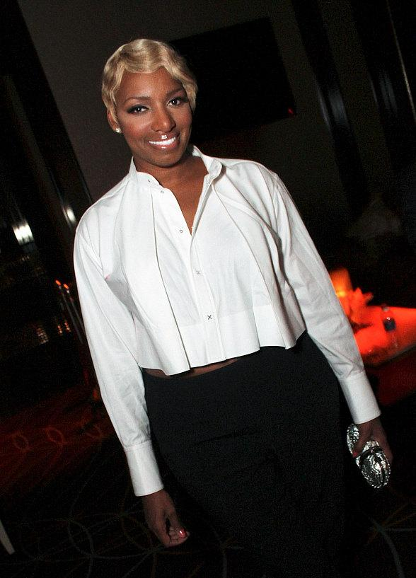 """Real Housewives of Atlanta"" star NeNe Leakes Parties at Lily Bar & Lounge at Bellagio Las Vegas"