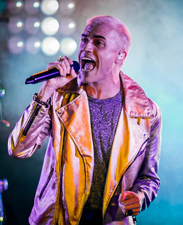 Neon Trees perform at Boulevard Pool at The Cosmopolitan of Las Vegas