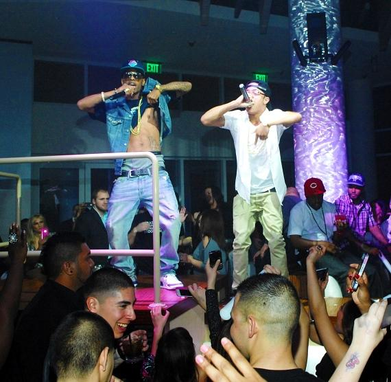 New Boyz perform at RPM Nightclub at the Tropicana Las Vegas