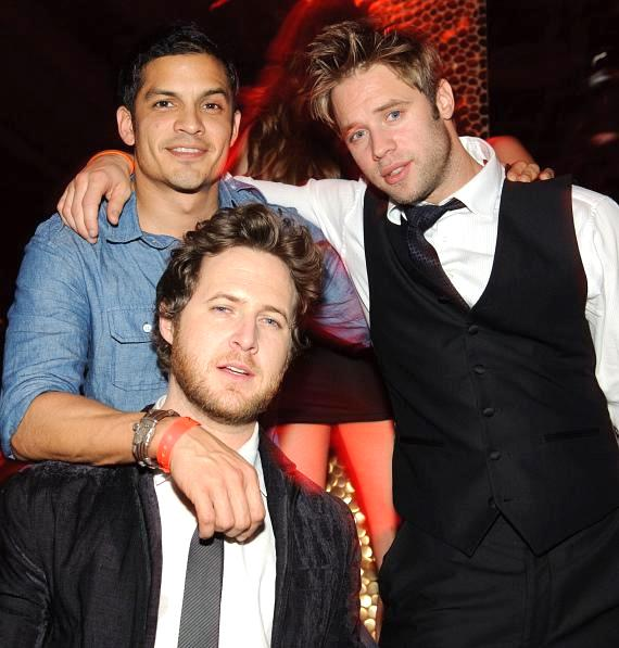 Nicholas Gonzalez, Shaun Sipos and A.J. Buckley at TAO