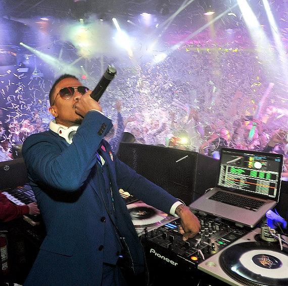 Nick Cannon at 1 OAK Las Vegas at The Mirage