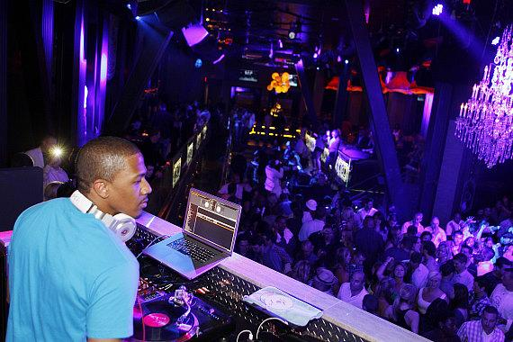 Nick Cannon DJs at Chateau Nightclub & Gardens at Paris Las Vegas