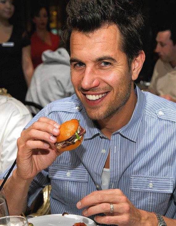 Nick Hexum enjoying his dinner at Sugar Factory American Brasserie at Paris Las Vegas