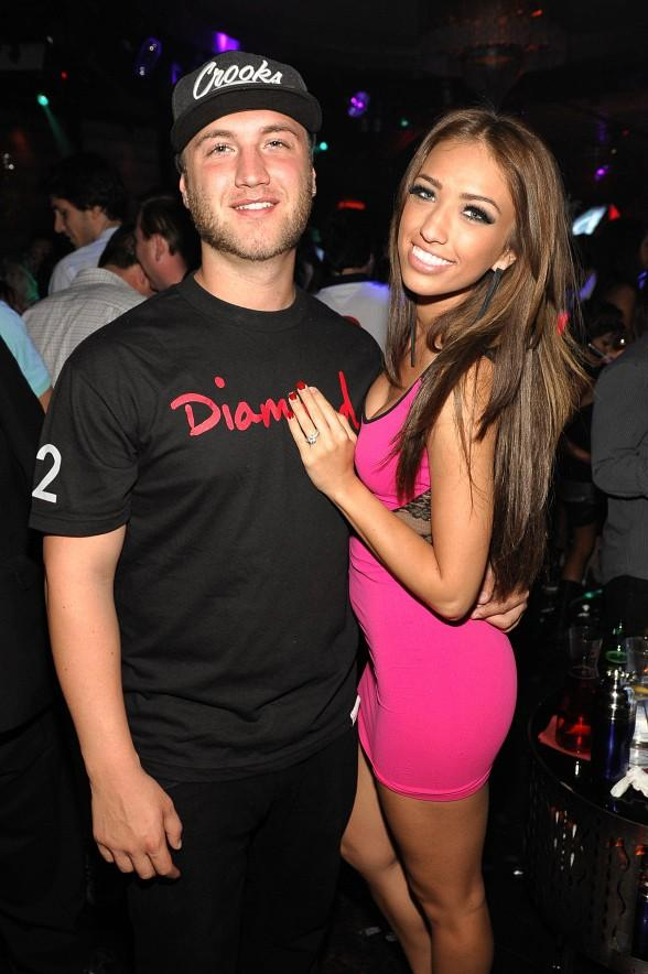 Nick Hogan and Breana Tiesi at LAVO