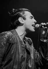Nick Simmons Performs at The Sayers Club inside SLS Las Vegas; Gene Simmons in Attendance