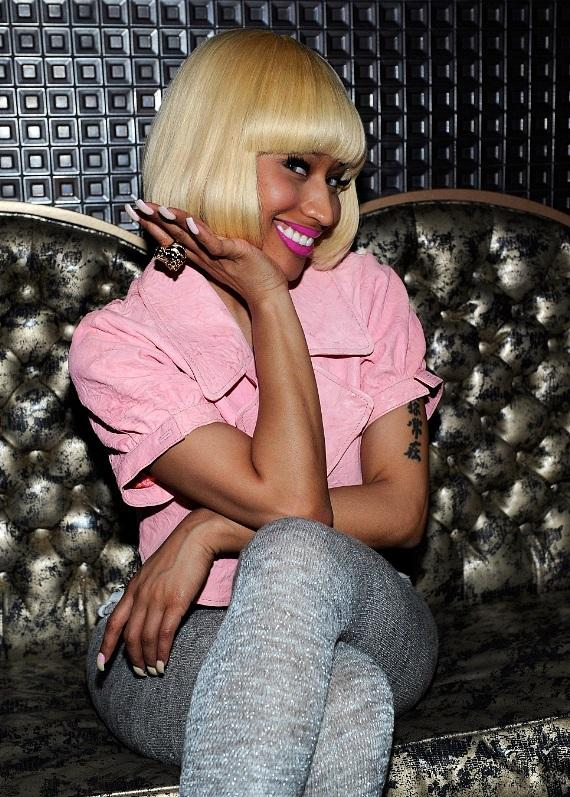 Nicki Minaj at her official Femme Fatale Tour after-party at Gallery Nightclub in Las Vegas