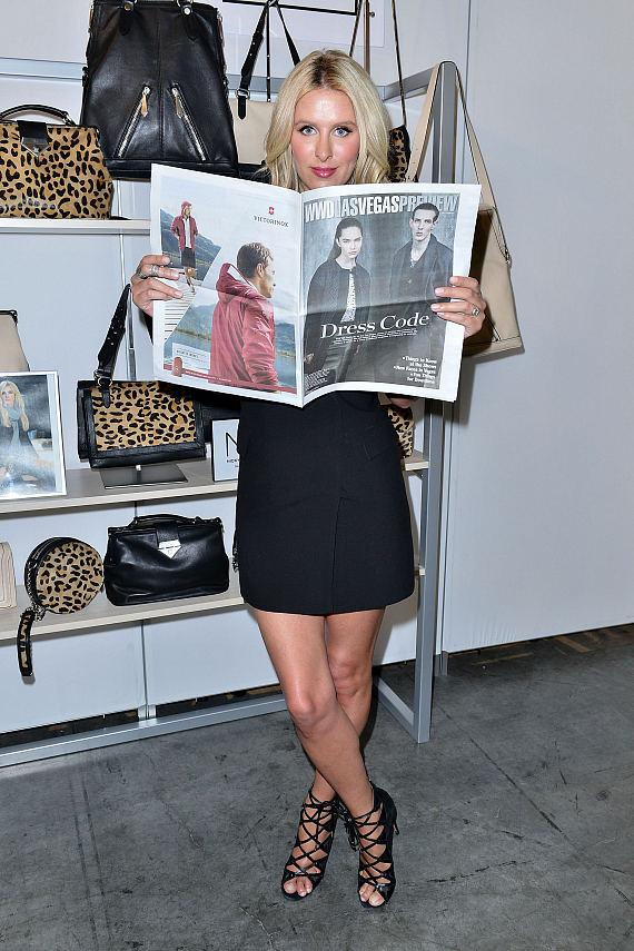"Designer Nicky Hilton Launches New Handbag Capsule Collection ""Nicky Hilton x linea pelle"" at ENK in Las Vegas"