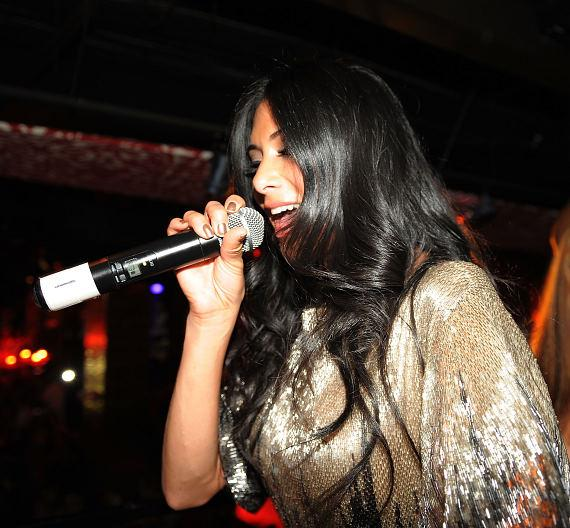 Nicole Scherzinger Performs at TAO