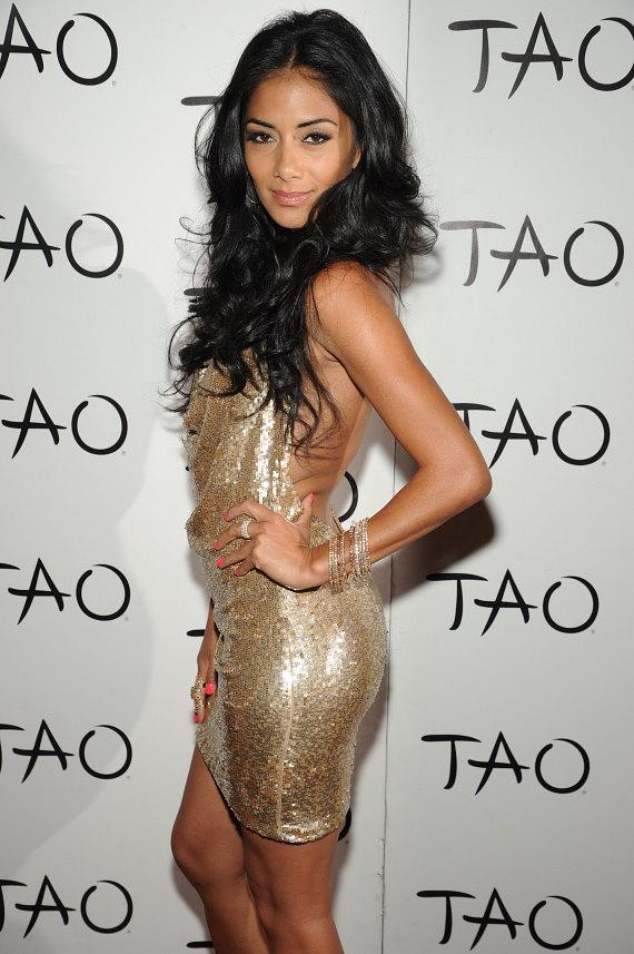 Nicole Scherzinger on Red Carpet at TAO