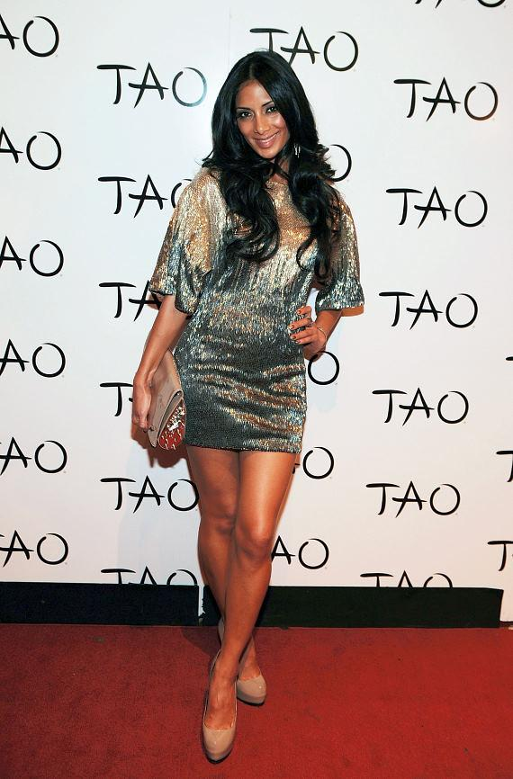 Nicole Scherzinger on TAO Red Carpet