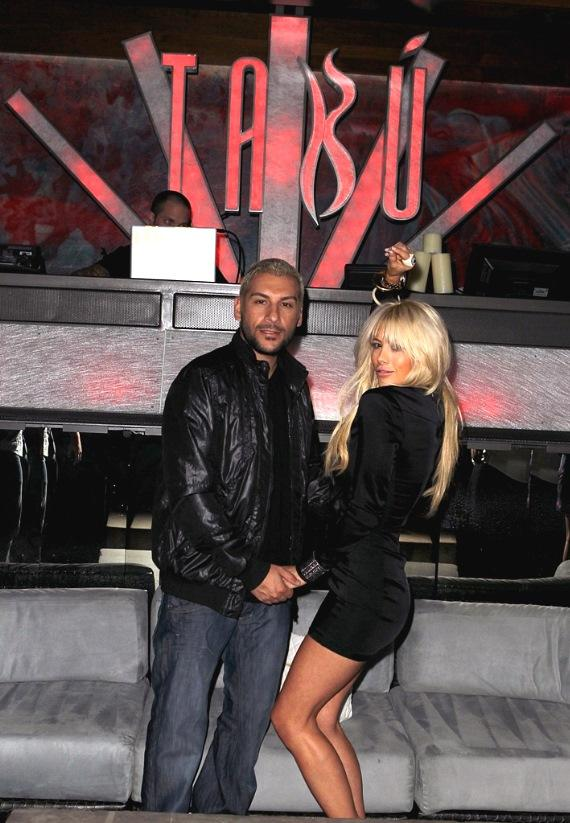 Shayne Lamas and Nik Richie Celebrate Bachelor and Bachelorette Parties at Tabú Ultra Lounge