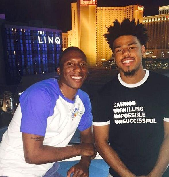 Quinn Cook & Nolan Smith Ride the High Roller at The LINQ Promenade in Las Vegas